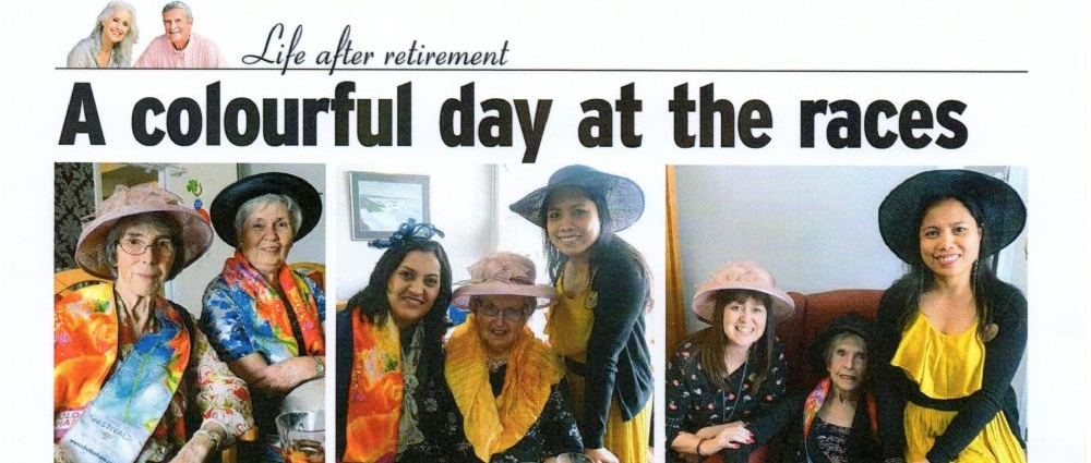 Our feature in the Surrey Mirror - Life after retirement