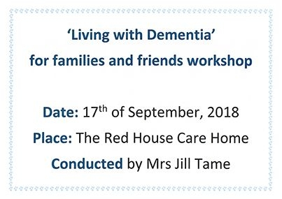 Living with Dementia Workshop