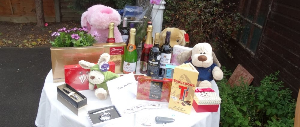 Raffle in aid of The Princess Alice Hospice