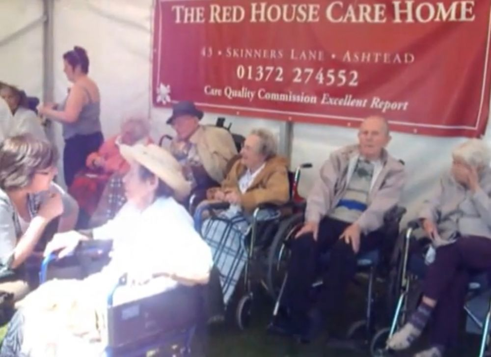 The Red House at Ashtead Village Day 2013