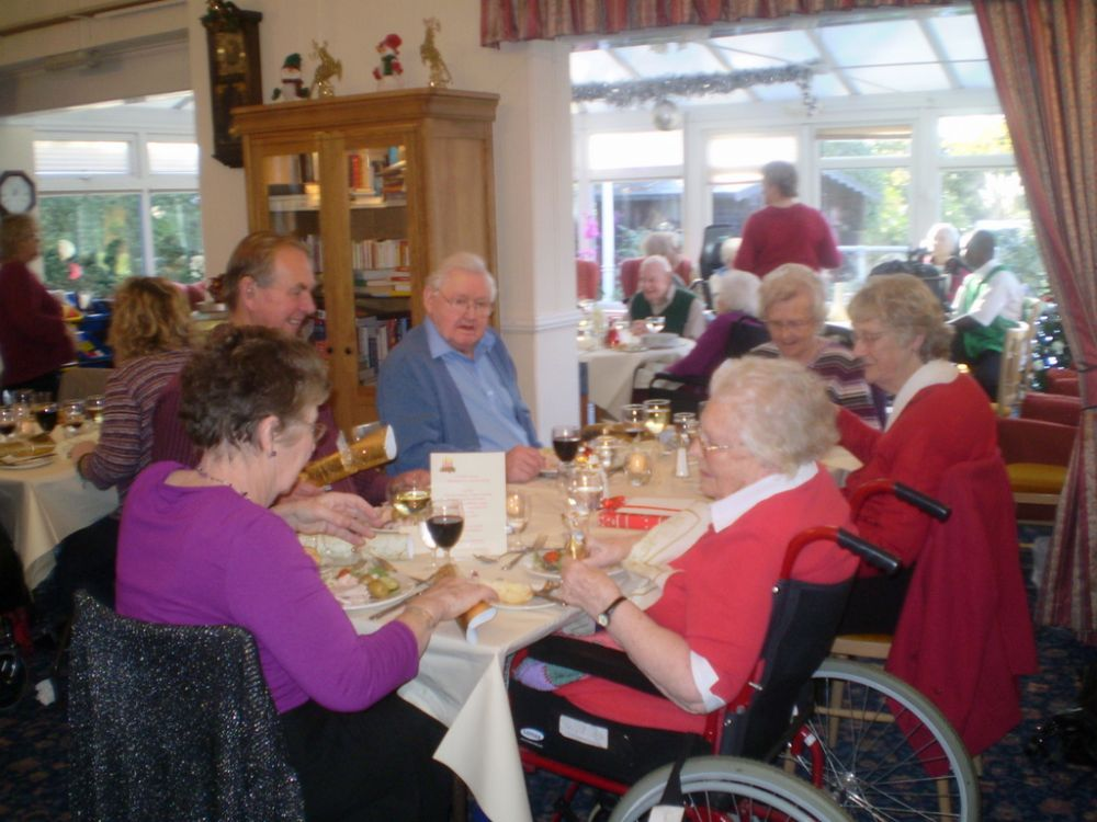 Residents Christmas Party 2011